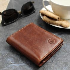 The Rocca Italian Leather Bifold Wallet