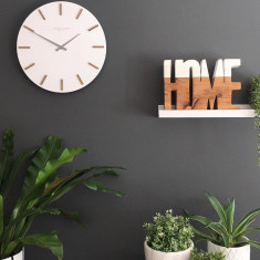 London Clock Company Hvit White Wall Clock