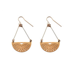 Gold Inca Earrings