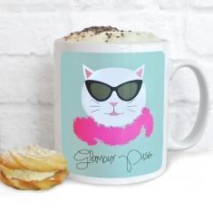 Frida Glamour Puss Mug