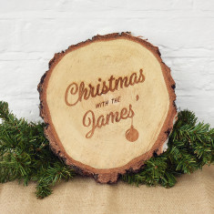 Christmas With The… Personalised Centrepiece