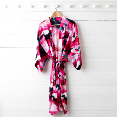 Frankie Silk Dressing Gown