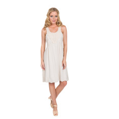 Catalin dress in beige