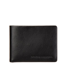 Tobias leather wallet in black