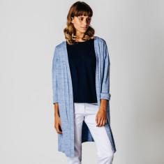 Blue marle cardigan