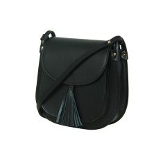Jenny cross body full-grain leather bag (various colours)
