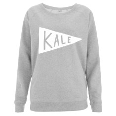Kale Women's Scoop Neck Sweater