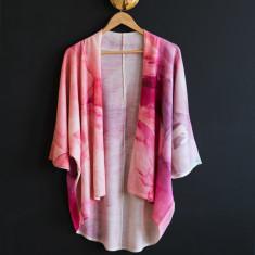 Peony Wool Kimono
