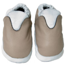 Neutral unisex baby shoes