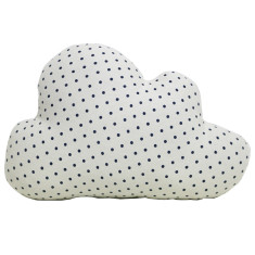 Large polka dot cloud cushion (various colours)