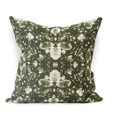 Tenocha Urban Aztec Cushion Cover in Olive Green
