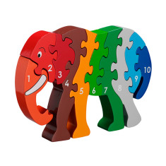 Elephant 1-10 Jigsaw