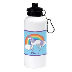 Personalised unicorn dream drink bottle
