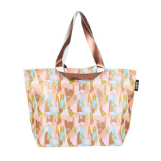 Shopper bag in Summer Forest by Leah Bartholemew Print