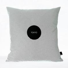 Tokyo bon voyage cushion cover