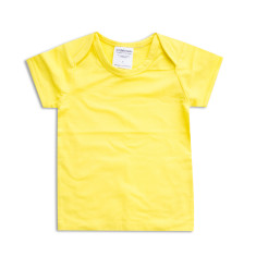 Basics baby t-shirt in yellow