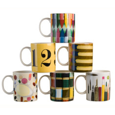 Eames bone china mug
