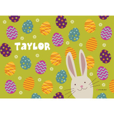 Easter personalised placemat