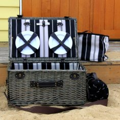 Merricks wicker picnic basket set for 6