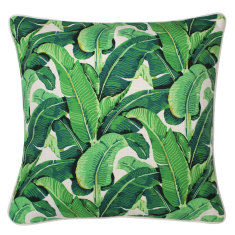 Outdoor Cushion in Banana Leaf Beige