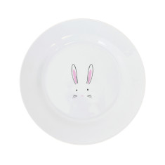 Bunny Rabbit Dinner Plate