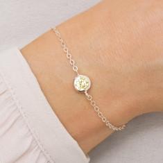 Personalised Skinny Birthstone Bracelet