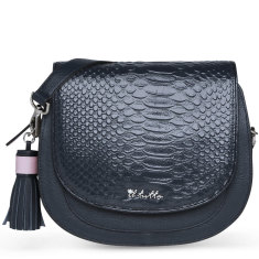 Il Tutto Eliza Mini Bag in Navy