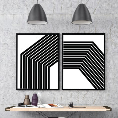 Lines Art Print (Two Designs)