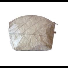 Eco leaf bag large in natural
