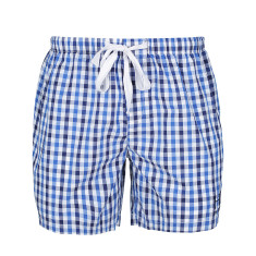 Men's Classic Blue Check Sleep Shorts