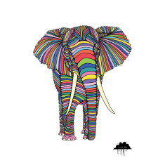 Eden the Enigmatic Elephant art print