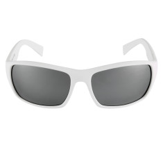 Breo Edge Mirrored Sunglasses - White