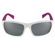 Breo Edge Mirrored Sunglasses - White/ Pink