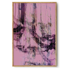 Urban Blush wall art print