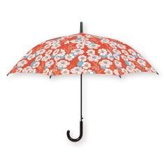 Umbrella with Japanese flower print