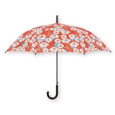 Umbrella with Japanese flower print