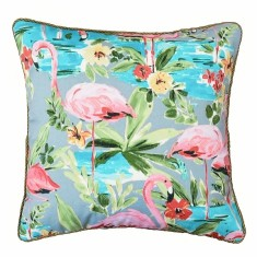 Flamingo indoor or outdoor cushion (various sizes)
