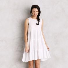 Hydra dress in white
