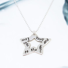 Personalised Star of Love Necklace