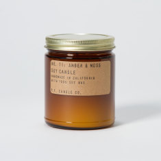 Amber & Moss Candle By P.F. Candle Co.