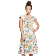 Wrap dress blossom