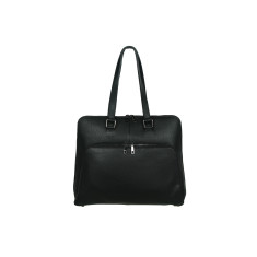 Margaret Tote leather bag in black
