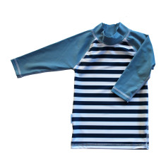 Classic long sleeve rashie for boys in Octopus Ocean