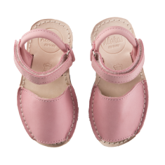 Alohas Keiki Pink Leather Sandals