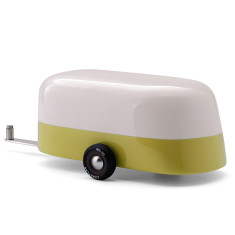 Candylab camper green toy caravan