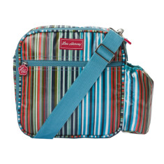 Insulated Lunchbox Sling in Downey Stripe Print