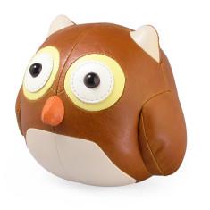 Zuny bookend owl tan