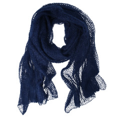 Bronx Hand Knitted Mohair wrap (various colours)