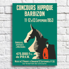 French Horse Show Print