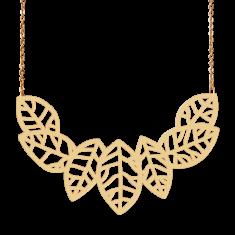Gold Birch Necklace